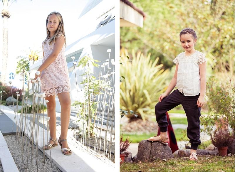 Sandálias Tipo Romanas para Meninas