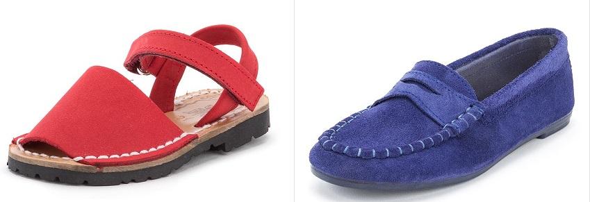 Cromoterapia Vermelho Azul em Sapatos