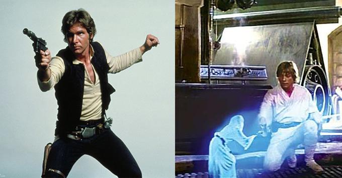 Luke e Han Solo