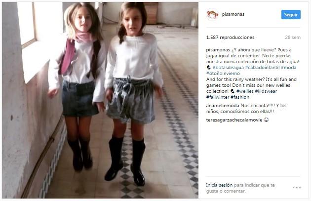 Instagram Pisamonas Boomerang Meninas Saltitonas