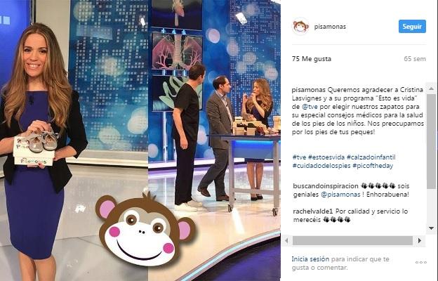 Instagram Pisamonas Conselhos Médicos Sapatos Crianças na Televisão