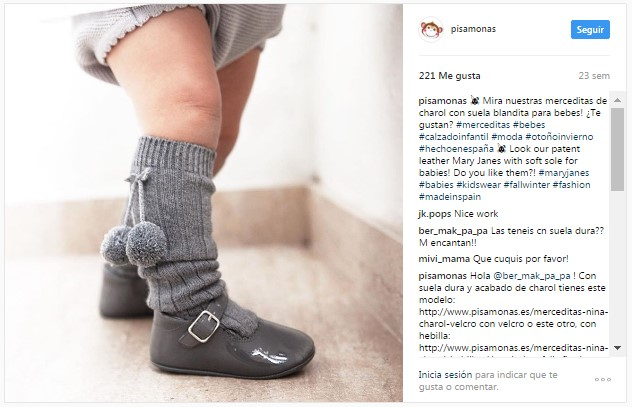 Instagram Pisamonas Looks Sapatos e Meias a Condizer