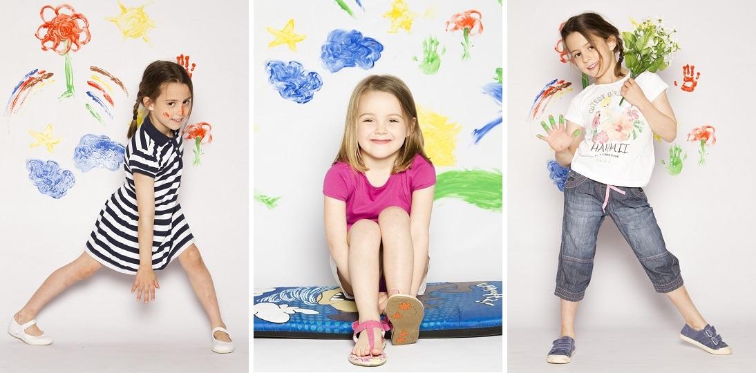 Varias tendencias niña moda primavera 2014