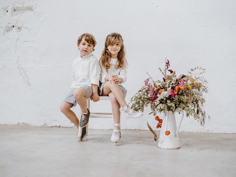 Calçado Crianças Casamento