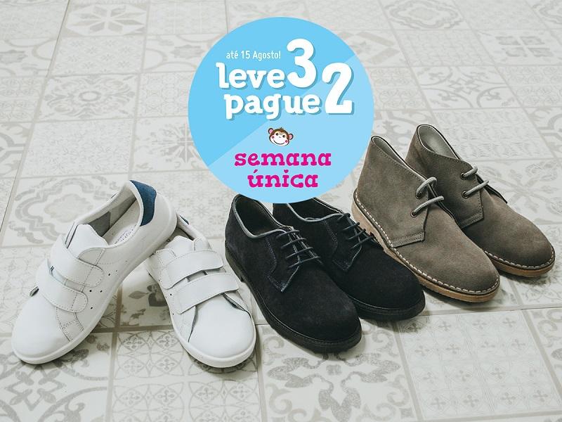 Sapatos Colegiais Pisamonas
