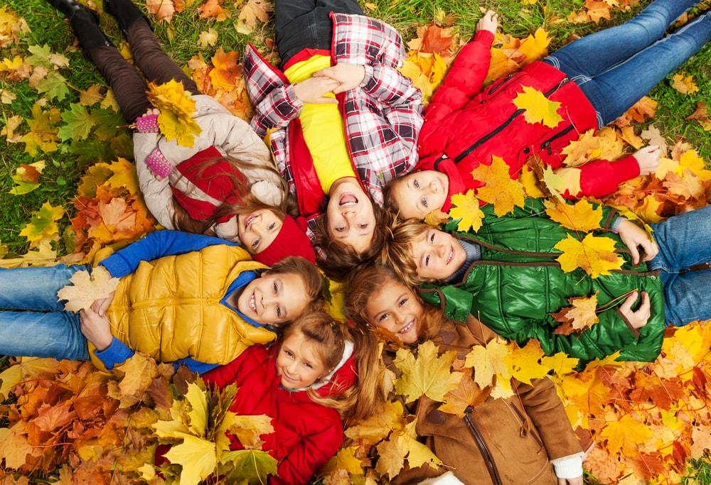 Actividades para crianças no outono
