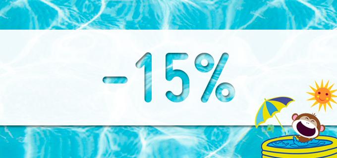 Saldos -15% Pisamonas