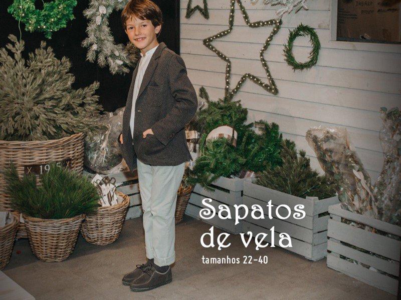 Sapatos Menino de Natal