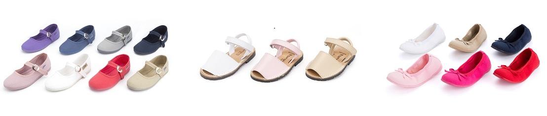 Varios zapatos para niña moda primavera 2014