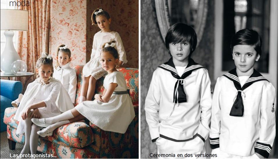 Vestidos de Comunión niño y niña